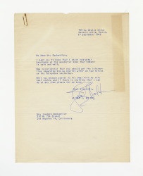 Letter from Alfred J. Bolton to Isidore B. Dockweiler, September 17, 1945