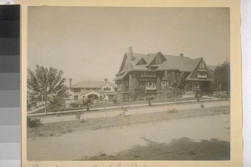 Unidentified residence, Berkeley, California [and Ramsey residence]
