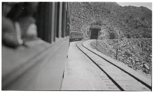 Railway tunnel in Carrizo Gorge