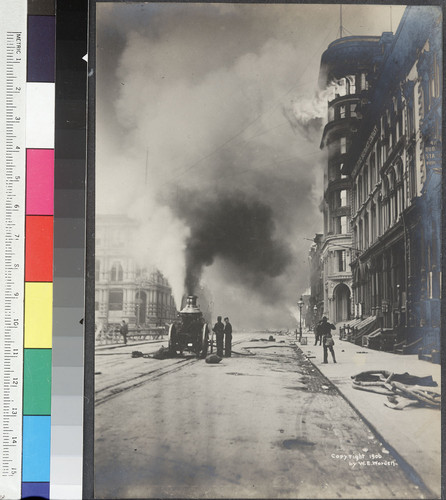 California Street, S.F. [At Sansome St. Fireman's Fund office, right.]