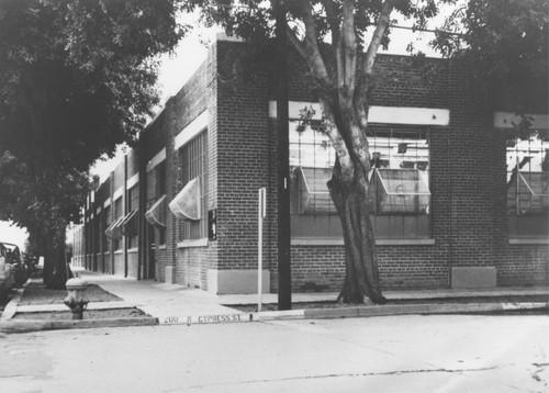 Calisphere: Anaconda Wire and Cable Company warehouse, Orange ...
