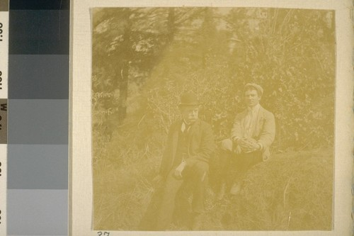 Both pictures Uncle Herman [George Scheffauer] and Ambrose Bierce