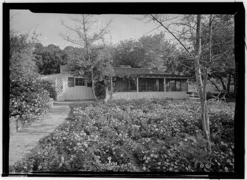 Franklin, Sidney, residence [Y. Frank Freeman residence]. Exterior