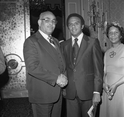 Brotherhood Crusade dinner at the Beverly Hills Hotel, Los Angeles, 1978