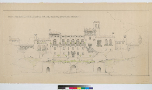 Study for Sausalito Residence [Elevation]
