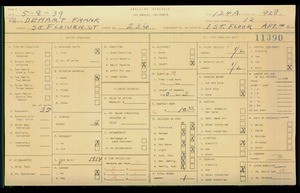 WPA household census for 236 S FLOWER ST, Los Angeles