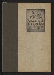 Bits from Wall's etched books