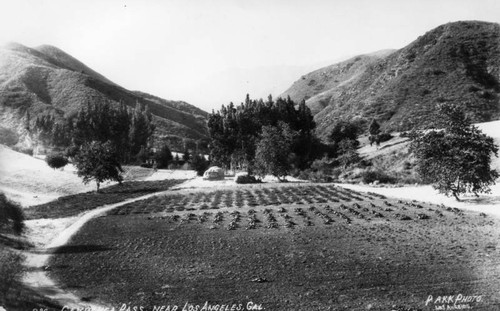 View of early Cahuenga Pass