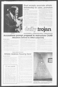 Daily Trojan, Vol. 76, No. 23, March 14, 1979