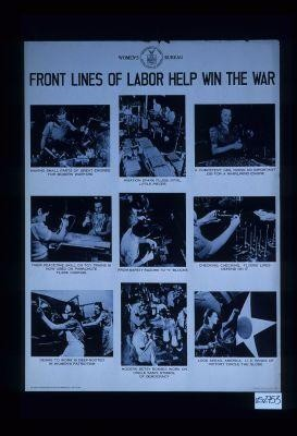 Front lines of labor help win the war
