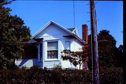 1905 Queen Anne cottage at 231 Florence Avenue, Sebastopol, California, 1975