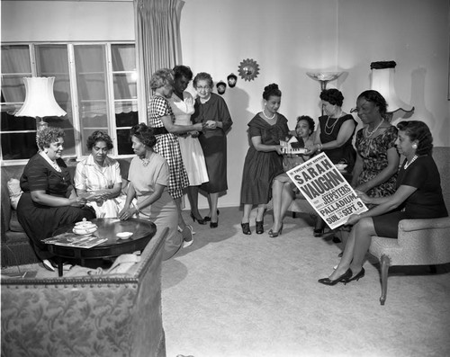 12 Big Sisters, Los Angeles, 1962