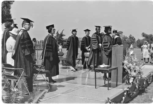 UCSD Commencement Exercises - Thurgood Marshall College