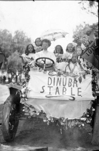 Calisphere: Raisin Day Festival, Dinuba, Calif, ca 1908