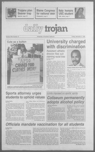 Daily Trojan, Vol. 113, No. 48, November 09, 1990