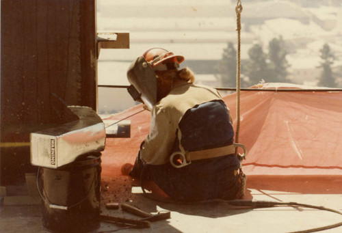 Mary Michels, ironworker