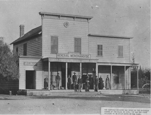 Jesse H. Arnold General Merchandise store, Orange, California, ca. 1879