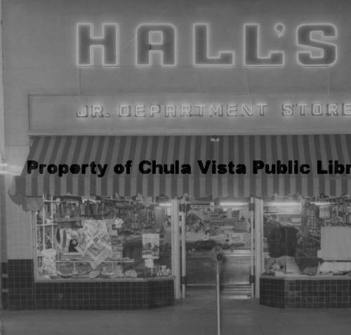 Hall's Jr. Department Store
