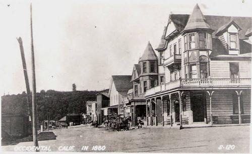 Altamont Hotel In Occidental California Circa 1880