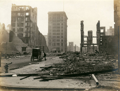 Marion, Shreve and R.G. Davis Buildings, San Francisco Earthquake and Fire, 1906 [photograph]