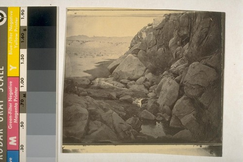 Rock Springs from Upper Hold (March 6, 63?) [1863]