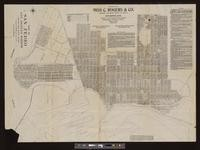 Map of San Pedro, Los Angeles Harbor: compiled from official records