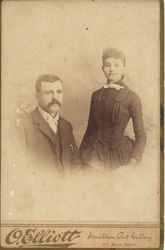 Americus and Sarah (Conner) Abbott, married 1874
