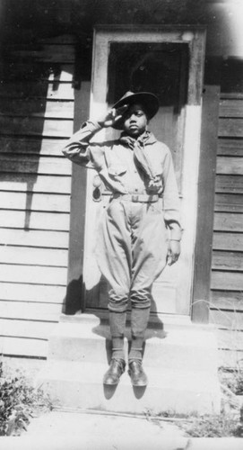 Rufus Marshall, Boy Scout