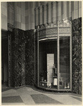 [Eastern Columbia building, 849 South Broadway, Los Angeles, entrance lobby]