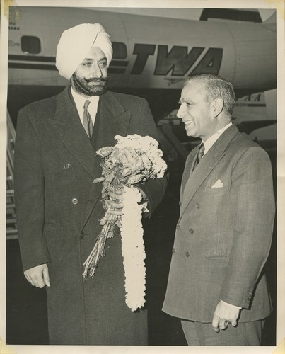 Maharaja of Patiala with BN Nandu