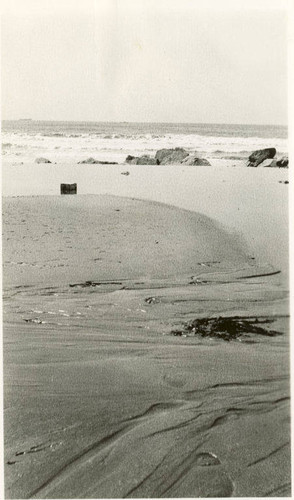 Storm drain by the Del Mar Club, Santa Monica, Calif., March 26, 1937