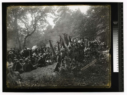 Among the Indians in California [White Deer Skin Dance in Hoopa - Bald Hills site]