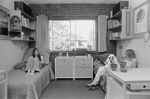 calisphere dorm life in washburn hall san jose state college