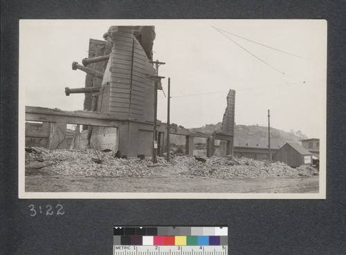 [Ruins and rubble. Unidentified location.]