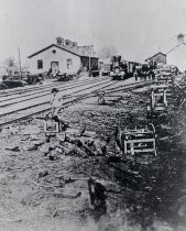 San Francisco & San Jose Railroads - San Jose Terminal 1864