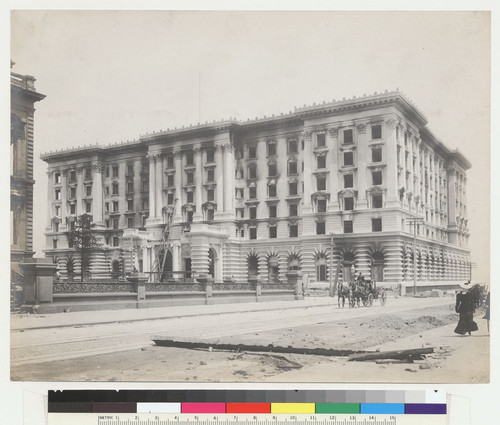 [Fairmont Hotel. California and Mason Sts.]