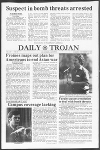 Daily Trojan, Vol. 62, No. 41, November 19, 1970