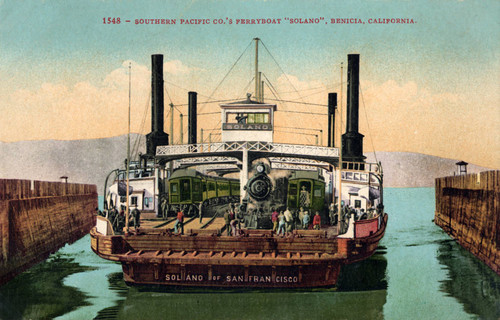 Southern Pacific Ferryboat