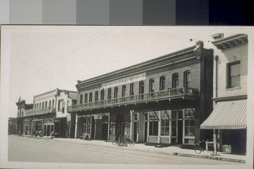 Jap town. Fresno, Cal. 1910. [Japanese commercial district.]