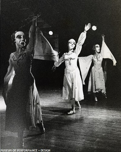 San Francisco Ballet Dancers in Kersh's Libation: A Morality Play, 1965