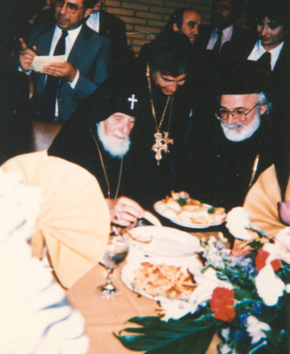 Meeting of clergy