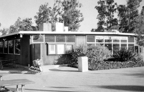 """Bull Ring"" snack bar at San Fernando Valley State College"