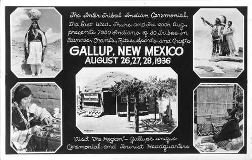 The Inter-Tribal Indian Ceremonial Gallup, New Mexico