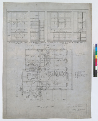 Second Floor, Drawing # 3