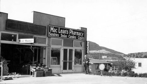 MacLean's Pharmacy, circa 1925