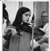 Calisphere: J'anna Jacoby (at age 12)  Caption: