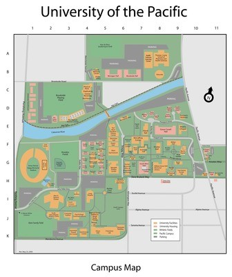 Calisphere 2000s Map Of Campus