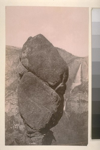 [Agassiz Rock, Yosemite Valley.]--7826