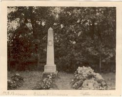 Barnes family plot in Pleasant Hill Cemetery, Pioneer section