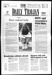 Daily Trojan, Vol. 138, No. 14, September 20, 1999